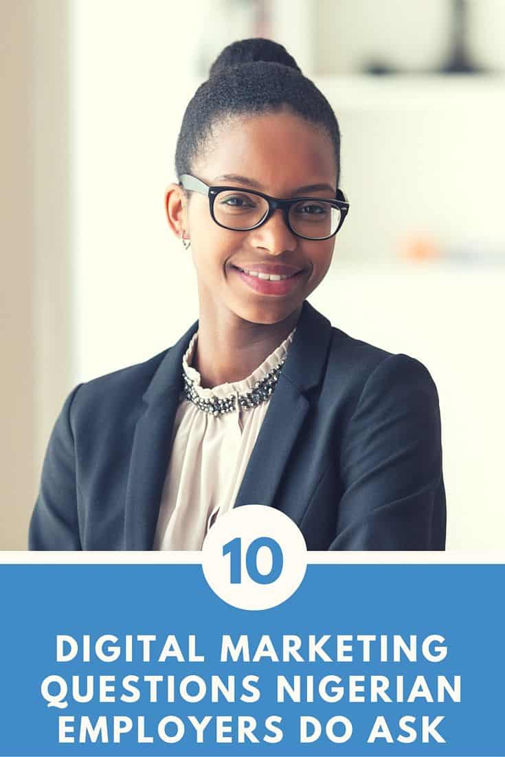10 digital marketing interview questions nigeria employers do ask