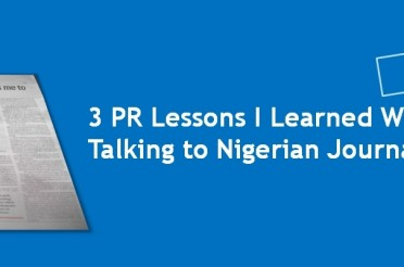 3 Lessons I Learned While Talking To A Nigerian Journalist