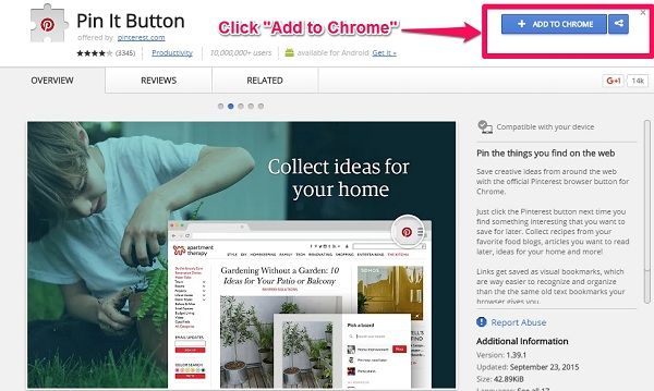 how to install chrome extension step 2