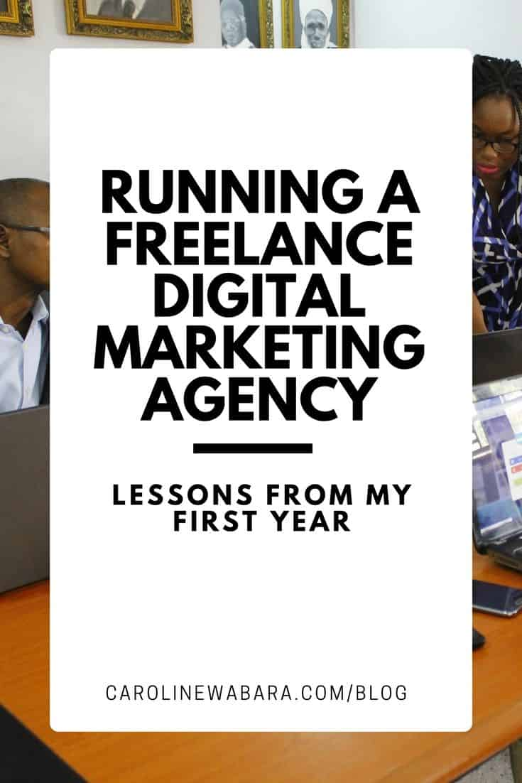 Discover Lessons From My First Year Running A Freelance Digital Marketing Agency in Nigeria